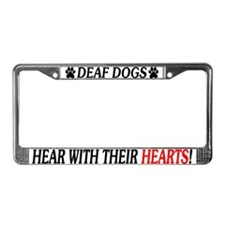 Hear The World License Plate Frame