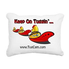 Keep on Tuggin Rectangular Canvas Pillow