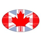 Canada union jack Stickers
