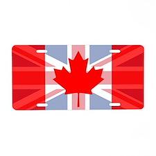 UK/Canada Aluminum License Plate