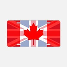 UK/Canada Aluminum License Plate