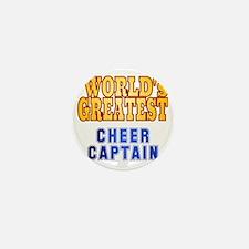 World's Greatest Cheer Captain Mini Button