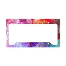 Colours Patterns, License Plate Holder