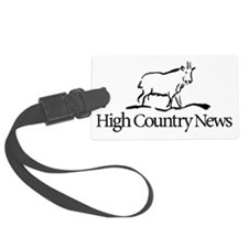 Retro High Country News logo Luggage Tag