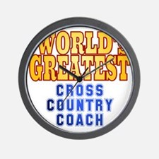World's Greatest Cross Country Coach Wall Clock