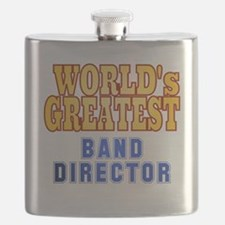 World's Greatest Band Director Flask