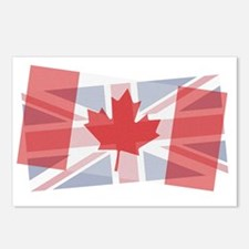 Canada/Uk blended Postcards (Package of 8)