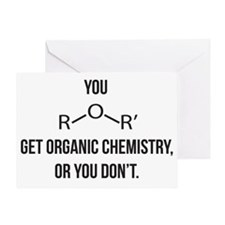 Ether You Get OChem... Greeting Card