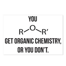 Ether You Get OChem... Postcards (Package of 8)