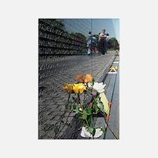 Vietnam Veterans Memorial Wall Ro Rectangle Magnet