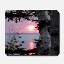 Sunset Lake Superior Mousepad