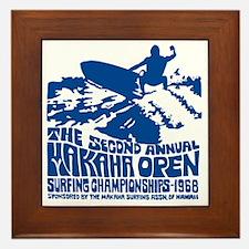 Makaha Surfing 1968 Framed Tile