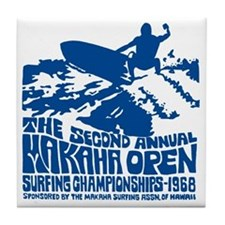 Makaha Surfing 1968 Tile Coaster