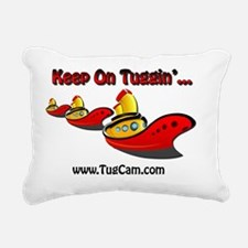 Keep on Tuggin' Rectangular Canvas Pillow