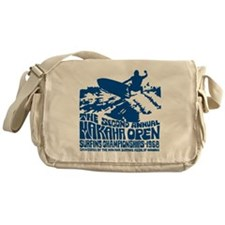 Makaha Surfing 1968 Messenger Bag