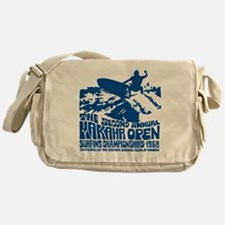 Makaha Surfing 1968 Messenger Bag