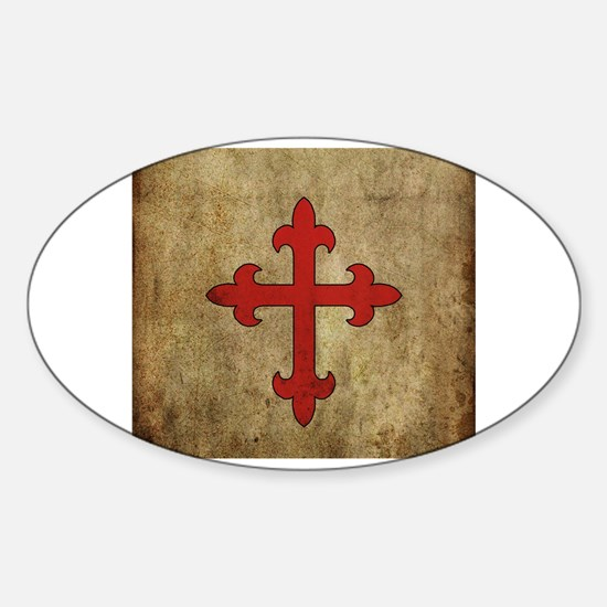 Cute Church of england Sticker (Oval)
