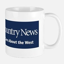 Because I Care About the West bumper st Mug