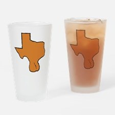 Texas Balls LH Drinking Glass