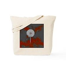 Graphic Dandelion Art Tote Bag