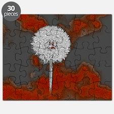 Graphic Dandelion Art Puzzle
