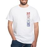 Slovensko White T-Shirt