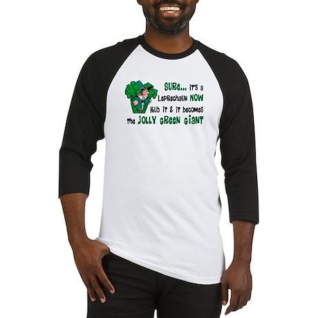 Leprechaun vs. Green Giant Baseball Jersey