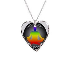 Internal Energy (chakras) Necklace Heart Charm