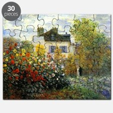 The Garden of Monet at Argenteuil Puzzle