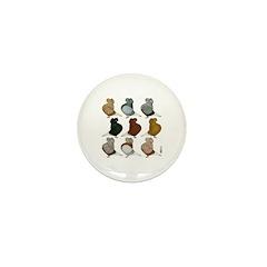 Nine Cap Flights Mini Button (100 pack)