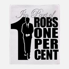 RobsOnePercent Throw Blanket