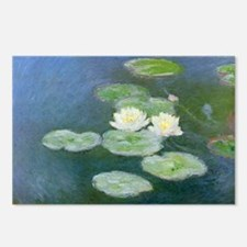 Water Lilies Postcards (Package of 8)