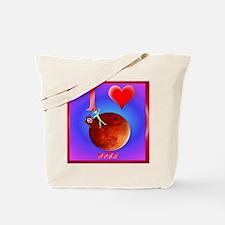 Pillow I Love Mars Tote Bag