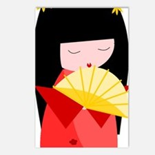 KOESHI GIRL Postcards (Package of 8)