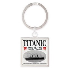 TG2Ghost14x14 Square Keychain