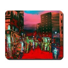 Abstract City View Mousepad