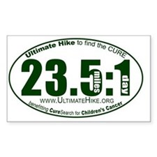 23.5 Miles:1 Day Decal