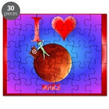 Mpad I Love Mars Puzzle