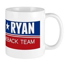 Romney Ryan Wave Design Mug