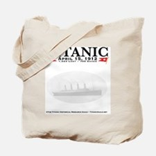 TG2StickyNoteHeaderGhostlyBoat Tote Bag