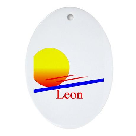 Leon Oval Ornament