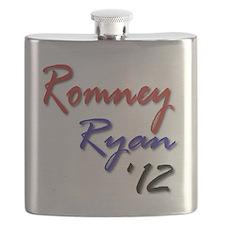 Romney Ryan 2012 Flask