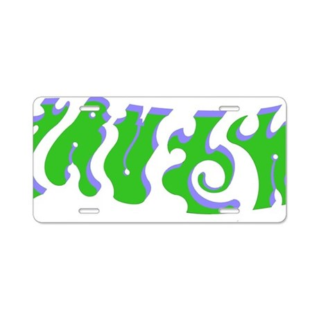 Truth/Lies ambiguous word d Aluminum License Plate