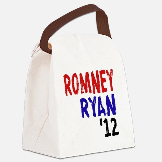 Romney Ryan 2012 Canvas Lunch Bag
