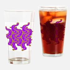 Fish design after Koloman Moser Drinking Glass