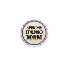 Spinone Italiano Dog Mom Mini Button