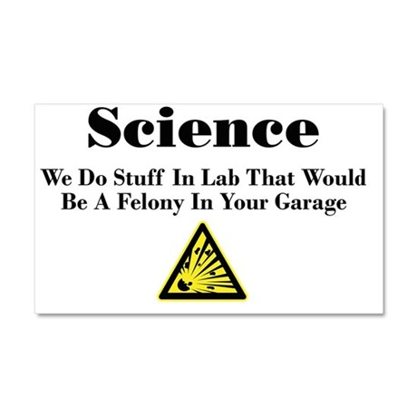 Science Car Magnet 20 x 12