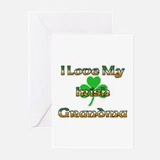 I Love My Irish Grandma Greeting Cards (Package of
