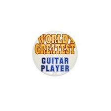 World's Greatest Guitar Player Mini Button