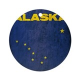 Alaska flag Ornaments